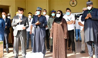 COVID-19: Lebanese community donates food items worth millions of Naira to FCT task force
