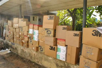 Murtala Muhammed Foundation donates medical and sanitisation supplies, others to NCDC