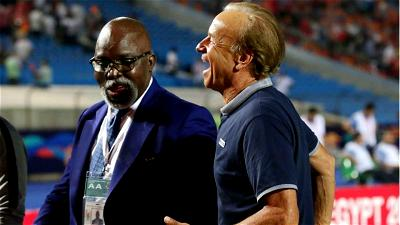 Gernot Rohr, NFF , Contract offer