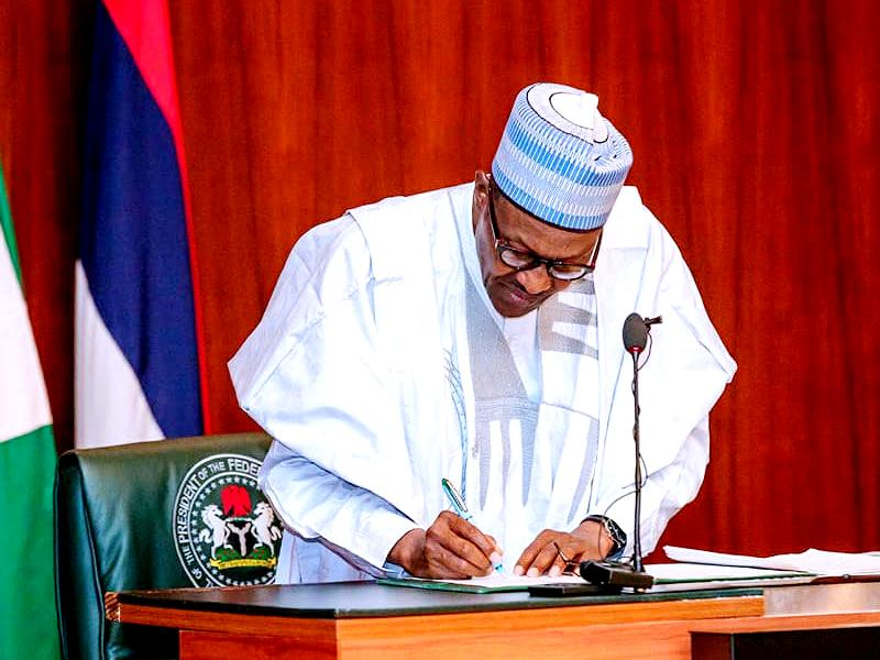 Buhari signs N983bn 2021 supplementary appropriation bill into law