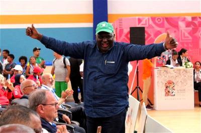 Yahaya Mohammed, Nigerian Weightlifting Federation