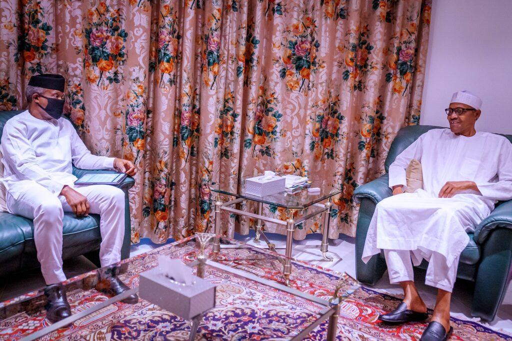Osinbajo, Buhari
