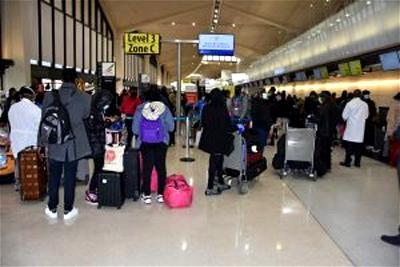 50 trafficked Nigerians girls, 19 others arrive from Lebanon