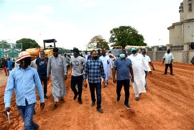 Photos: Niger Govt inspect on-going projects