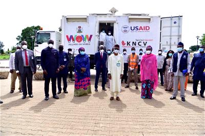 COVID-19: Kaduna expands testing, as USAID donates vehicle