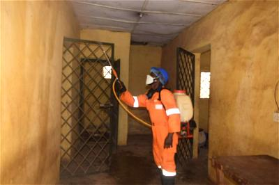 Niger state disinfect prisons