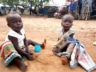 Children in IDP camp