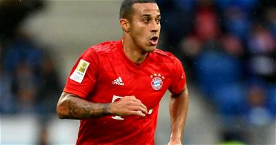 Bayern's Thiago ruled out for rest of season after groin surgery