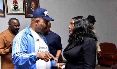 Akpabio to sue Joy Nunieh for defamation, denies 'false allegations'
