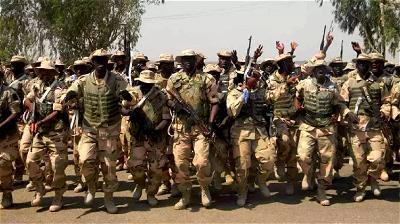 Nigerian Army, Troops
