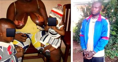 Man pours hot water on nursing wife's breasts in Enugu