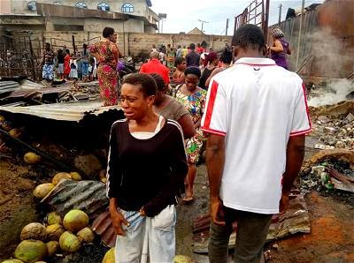 Fire guts over 100 shops, goods in Calabar market