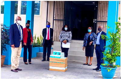 ISN donates diabetes management kits for fight against COVID-19