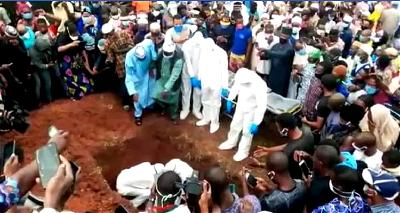 HAPPENING NOW: Late Ondo Commissioner laid to rest