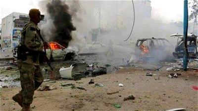 Blast at hotel in Somalia capital Mogadishu injures 28