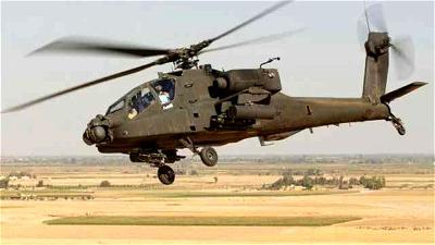 Military chopper crash kills 2 in Kenya