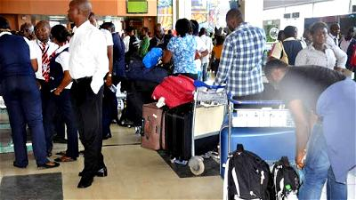 VIDEOS: Homeless Nigerians in UAE beg FG for help, lament risk of jail terms