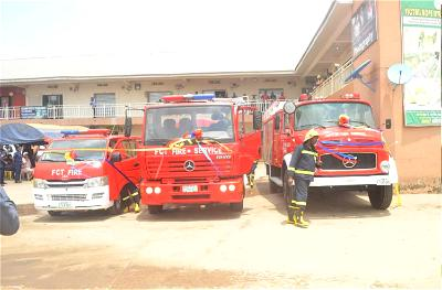 FCT Fire Service saves property worth ₦2.35bnin 7 months ― Director