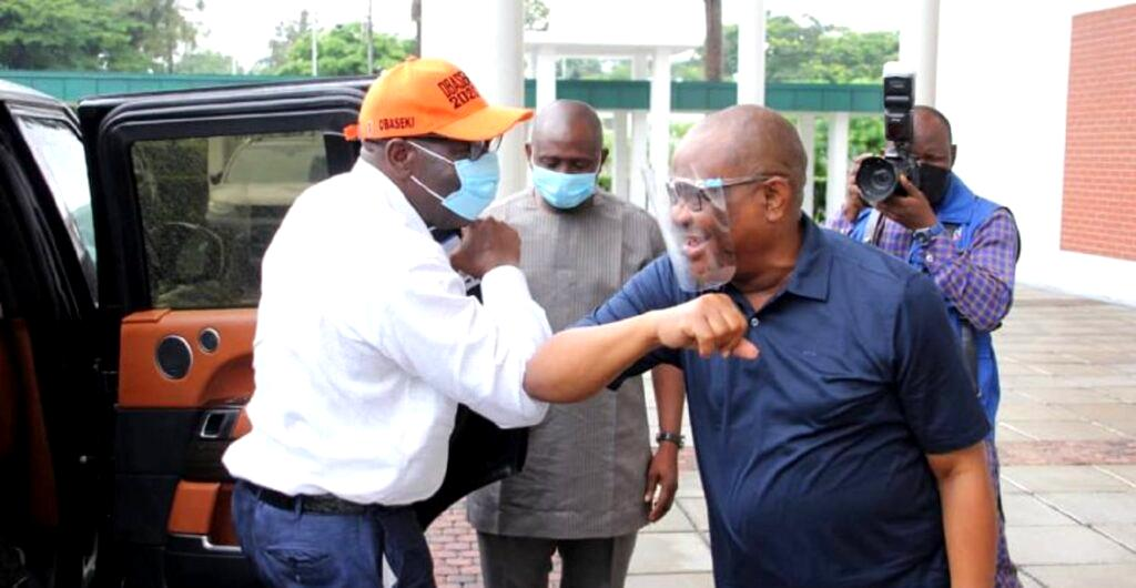 DEVELOPING: Wike, Emmanuel, Obaseki, others in a crucial meeting