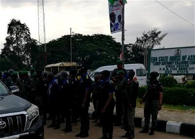 Police take over Edo Assembly