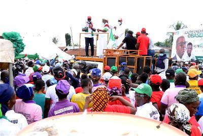 Edo 2020: Obaseki resumes ward-to-ward campaign in Etsako Central