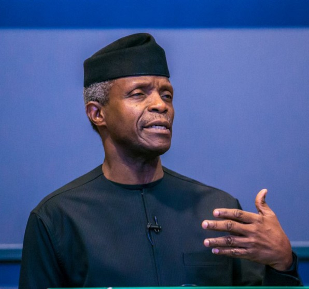 How grassroots planning helped social investment programmes ― Osinbajo