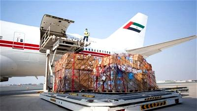 Plane with 20 tons of UN medical supplies arrives in Beirut