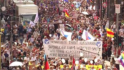 'One big lie:' 38,000 people rally in Berlin against Covid-19 rules