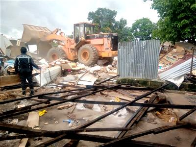 Insecurity: FCTA begins demolition of 2,400 Shanties on Railway Corridor