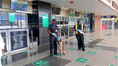 Lagos Airport, NAMA