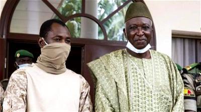 Mali's interim president to be sworn into office
