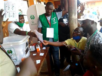 #EdoDecides2020: Collation of results on going at Ologbotsere Primary School, Ugbekun
