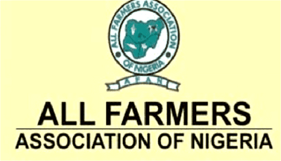 Food Production: AFAN alleges neglect of farmers' plight by Min of Agric