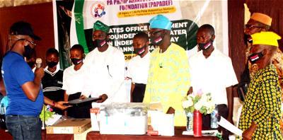 PAPADEF gives scholarship, donates equipment to Ogun school