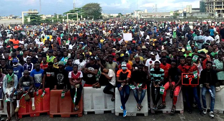 One year after #EndSARs protest, over 300 still in detention