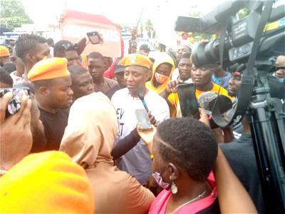 VIDEO: Deji Adeyanju, Sowore lead ENDSARS protest in Abuja