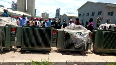 BUA Cement donates 6 transformers, 2 patrol vans to host community