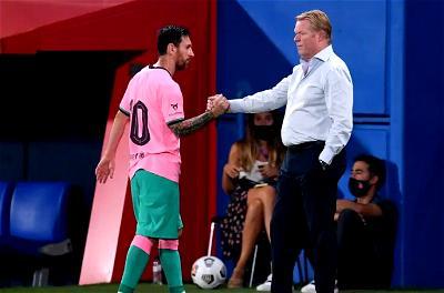 Koeman: Barca will do everything to keep Messi