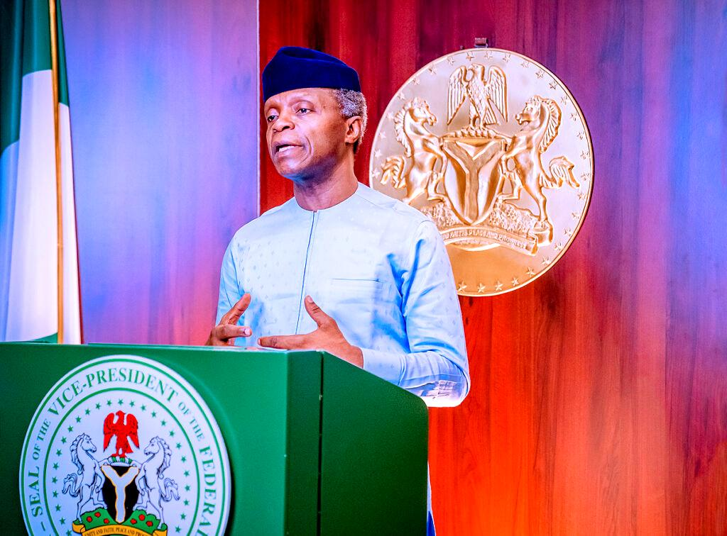 Why we must reject agents of anarchy - Osinbajo in Imo