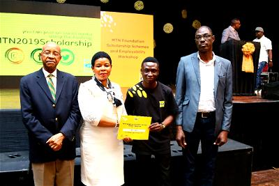 MTN stays true to raising the next set of change makers