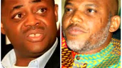 fani kayode and Nnamdi kanu