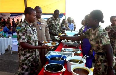 Chief of Air Staff celebrates Christmas with troops in Borno