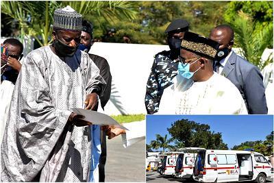 COVID-19: BUA donates 3 ambulances, 50,000 face masks to Bauchi