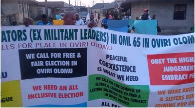 Urhobo ex-militants sue for peace among Oviri Olomu leaders