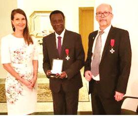 Akinroye bags Finland's highest award