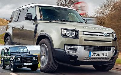 Five Star Euro NCAP for iconic Defender successor