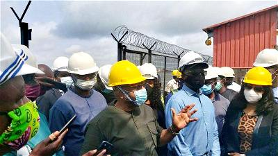 Federal House of Reps ad hoc committee inspects tanks farm in Lagos, sue for residents' safety