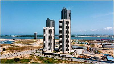 Eko Atlantic City, Real estate