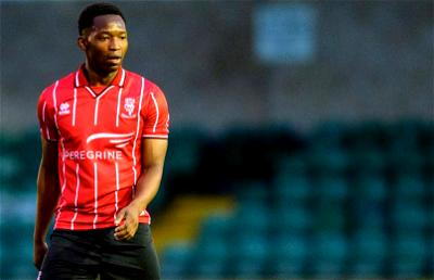 Tayo Edun scores in Lincoln FC League 1 win over Wimbledon
