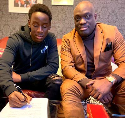 Top agent, Drew Uyi, signs Nottingham Forrest's Osa Solomon